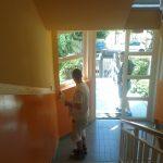 lépcsőház festés Budapesten